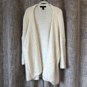 Cream Fuzzy Popcorn Sweater